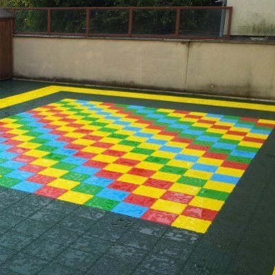 Slabs for play ground
