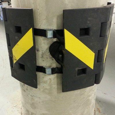 No-drill angle protection