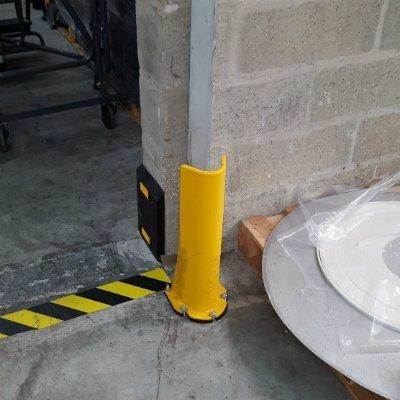 Angle rack guard