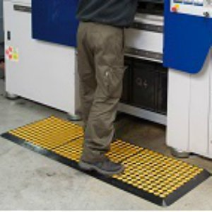 tapis anti fatigue matlast application jaune