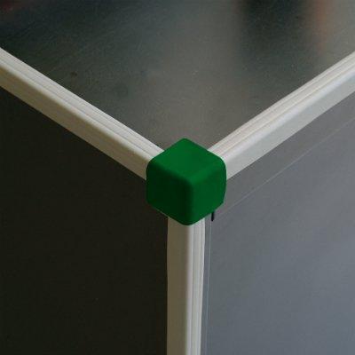 90° corner - 3 sides