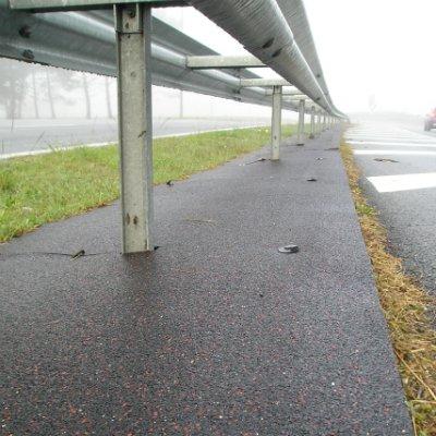 Anti-vegetation mat