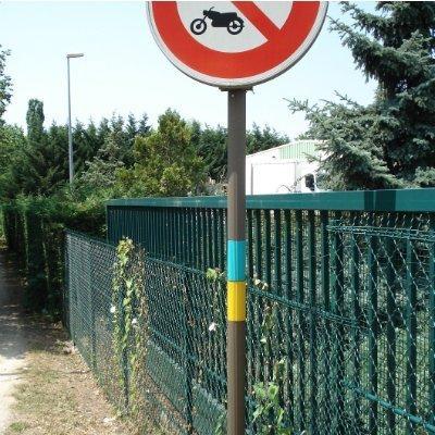 Anti-graffiti sheath