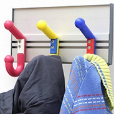2-heads coat hanger