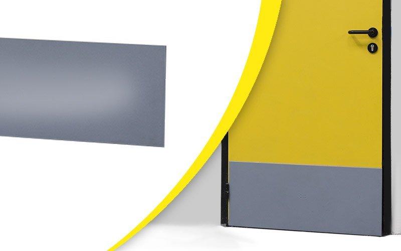 protection bas de porte 2 wattelez l 39 lastom re industriel. Black Bedroom Furniture Sets. Home Design Ideas