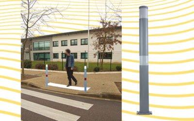 Communiqué de presse : Poteau de balisage Signalisation et prévention, l'accessibilité tout en souplesse !