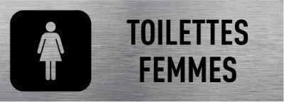 Signalétique toilettes femmes