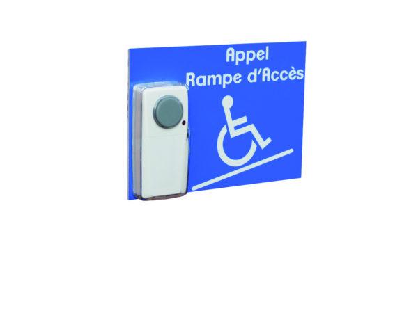 carillon appel rampe d'accès