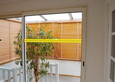 repérage des surfaces vitrées - mise en situation