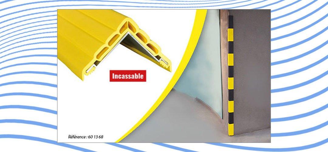 L'ANGL'ISOL® protège les personnes, les matériels et les murs