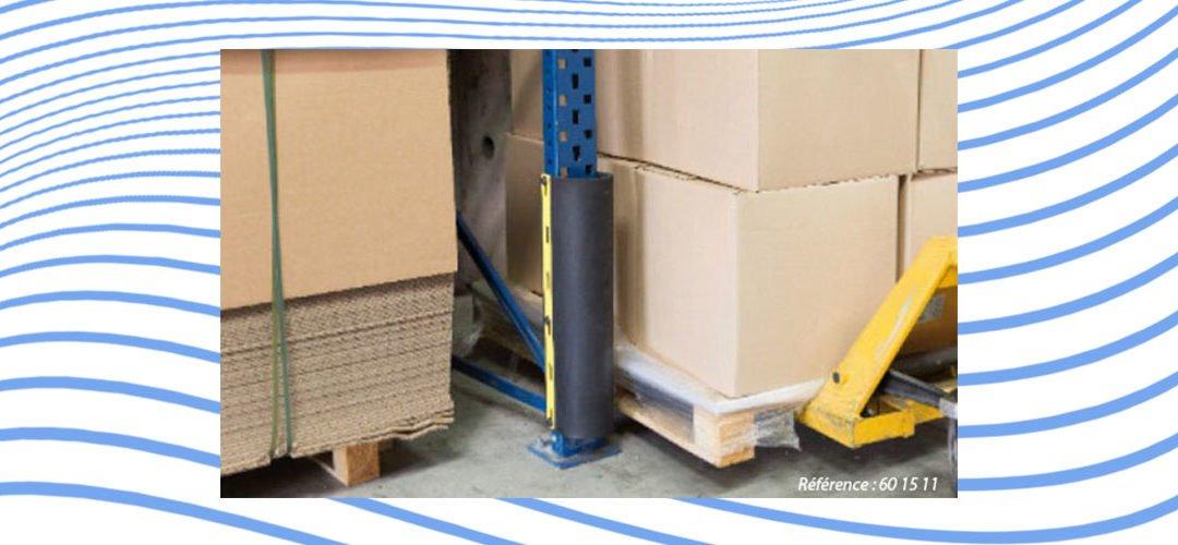 Pied de rack PARGOM® : sécurité maximum des structures de stockage