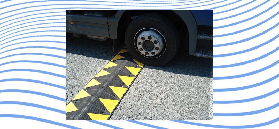 Ralentisseur de trafic PARGOM® pour une circulation plus sûre
