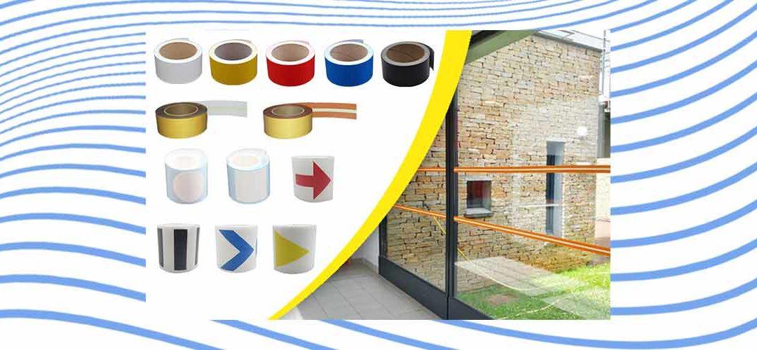 Visualiser les surfaces vitrées avec le ROULEAU DE REPERAGE WACCESS®